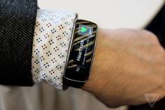 Samsung dives into fitness wearables with the Gear Fit | The Verge
