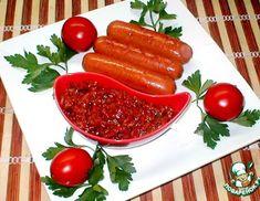 Рецепт: Аджика  из  соленых  огурцов Carrots, Sausage, Stuffed Peppers, Meat, Vegetables, Ethnic Recipes, Kitchen, Food, Cooking