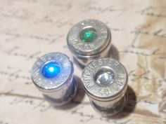 Bullet ear gauges plugs 40 Cal Bullet Plug by ArtifactsNRelics