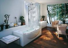 jacuzzi bathtub shower combination for small bathrooms | Great ...