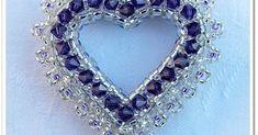 Minta: Fantasiabeads Engagement Ring Sizes, Beading Projects, Jewelry Making, Pendants, Jewellery, Beads, Diamond, Diy, Beading
