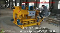 3 sets of machine sold to Lebanon is a mobile concrete block machine. It can produce different si. Machine Video, Making Machine, Concrete Blocks, Cement, Acer, Fly Ash Bricks, Pallet Size, Brick Molding, Concrete Mixers