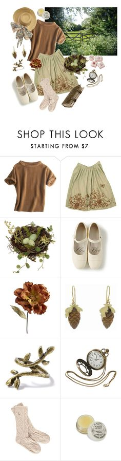 """""""Countryside Dreams"""" by hufflepuffhobbit ❤ liked on Polyvore featuring PATH, Calypso St. Barth, Pier 1 Imports, Annette Ferdinandsen, Jack Wills, vintage and country"""