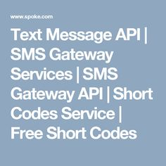 10 Best Text Message API | SMS Gateway Services | SMS