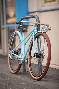 In a few years my little darling will ride on this, i hope.   Kids Mixte Proto #2 by Vanilla Workshop, via Flickr