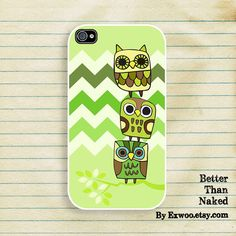 Owls   iPhone 4 Case iPhone case iPhone 4s Case iPhone 4 by exwoo, $15.00