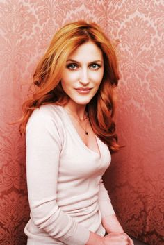 Gillian Anderson - X-Files ginger.