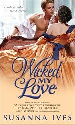 A #giveaway, guest post with author Susanna Ives​, & a 4 star #review of her latest release Wicked, My Love Sourcebooks Casablanca​  http://purejonel.blogspot.ca/2015/03/WickedMyLove.html
