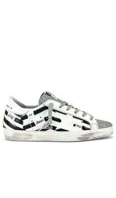 Superstar Sneaker Golden Goose Collections - Click to Shop #affiliatelink Golden Goose, Superstar, Fashion Brand, High Fashion, Skate Park, Casual Street Style, Italian Leather, French Terry, Designing Women