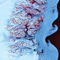 Olas de hielo (Groenlandia)