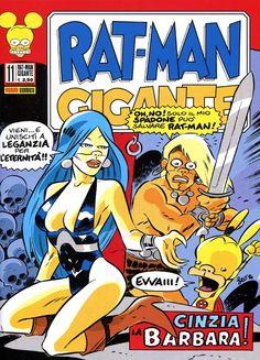 """In edicola questo gennaio 2015 il numero 11 di """"Rat-Man Gigante"""" (Panini Comics) di Leo Ortolani. Contiene due ristampe e un inedito geniale! PaniniComics #RatMan #LeoOrtolani"""