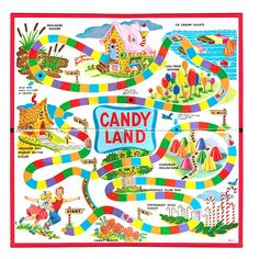 Candyland Board