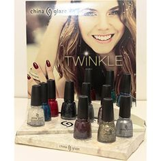 "China Glaze - ""Twinkle"" Christmas Collection 12 Full Size 0.5oz/15ml Bottles ** Find out more about the great product at the image link. (This is an affiliate link) #FalseNails"
