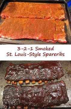 Smoked St Louis-Style Spareribs are my preferred ribs. 3 hours in smoke, 2 hours covered, then 1 more hour in smoke. Perfect every time. Slow Cooking, Smoker Cooking, Cooking Tips, Italian Cooking, Vegetarian Cooking, Easy Cooking, Cooking Kale, Smoked Meat Recipes, Rub Recipes