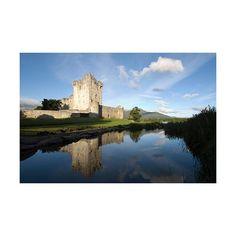 Ross Castle, Killarney, County Kerry - Ireland Photo (9098846) -... ❤ liked on Polyvore