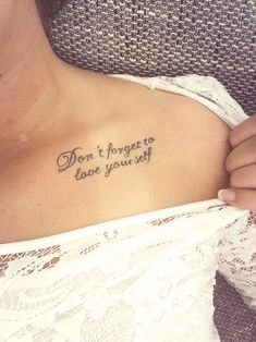 """ Never Forget To Love Yourself """