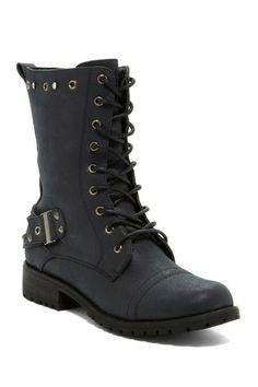 Sotila Combat Boot by New Season, New Shoes on @HauteLook