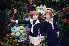 Cardcaptor Sakura - First Date by vaxzone.deviantart.com on @deviantART