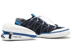 Foldable shoes, nice.