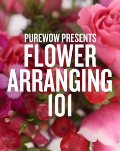 , Check out these simple tricks to make it easier than ever to create your own gorgeous flower arrangement. Why not gift your handmade bouquet this Moth. , How to Arrange Flowers 101 Garden Types, Diy Garden, Garden Ideas, Diy Wedding Bouquet, Diy Bouquet, Wedding Flowers, Diy Flowers, Gerbera Wedding, Peonies Bouquet