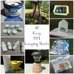 10 easy diy camping hacks from pinterest, crafts, outdoor living, 10 Easy DIY Camping Hacks from Pinterest