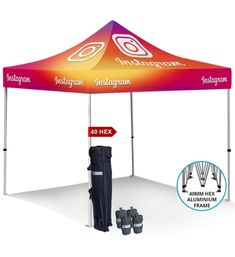 Dye Sublimation Tent Kit 3 | North America Display
