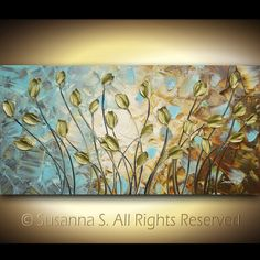 Palette Knife Paintings by Susanna