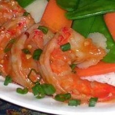 Szechwan Shrimp - Click image to find more Food & Drink Pinterest pins