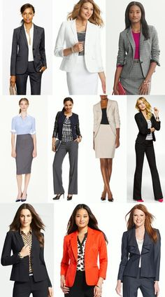 Interview/Professional Attire for Women. Not sure of the orange for an interview… - business professional outfits on a budget Business Professional Outfits, Professional Wardrobe, Professional Dresses, Business Attire, Business Outfits, Business Fashion, Business Casual, Womens Fashion Casual Summer, Office Fashion Women