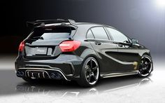 mercedes a class bodykit amp exhaustsystem by rowen japan Classe A Amg, Mercedes A45 Amg, Mercedes A Class, Racing Car Design, Benz Car, Trucks, Motor Car, Cars And Motorcycles, Dream Cars