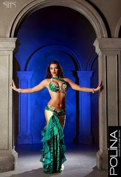 Green turquoise and animal print #bellydancing