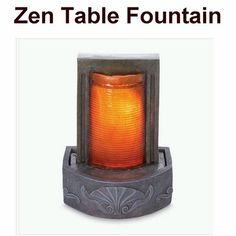 Indoor fountains  - Pin it :-) Follow us, CLICK IMAGE TWICE for Pricing and Info . SEE A LARGER SELECTION of indoor fountains at http://azgiftideas.com/product-category/indoor-fountain/  - gift ideas , home decor   -   ZEN Table Top Water Fountain