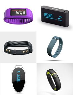 We've rounded up some of the most popular fitness trackers — including the Jawbone UP4, the Garmin Vivofit 2, and the Fitbit Charge HR — to help you compare features and prices.