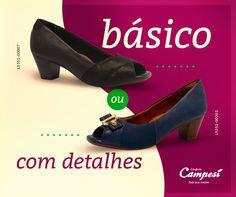 Qualquer que seja a sua escolha, se é Campesí, é garantia de conforto, leveza e flexibilidade!