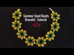 How to Make DIY Seed Beads Pendant? - Easy Crafts for All Beaded Necklace Patterns, Beaded Bracelets Tutorial, Seed Bead Patterns, Beading Patterns, Seed Bead Jewelry Tutorials, Seed Bead Crafts, Beading Tutorials, Seed Bead Flowers, Beaded Flowers