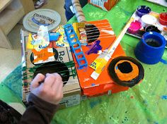 Olive ART! Do You???: Cubist Guitars