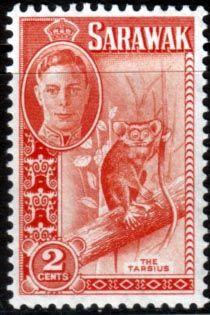 Sarawak 1950 SG 172 Western Tarsier Fine Mint SG 172 Scott 181 Other British Commonwealth Stamps for sale here