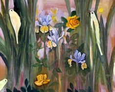 George Wallace Jardine (1920 - 2002) - Flowers and Birds.