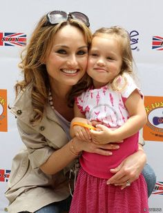 Giada De Laurentiis & her daughter Jade. Love her!