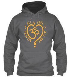 I Am Learning Yoga,My Joy Yoga,Tshirt017 Dark Heather Sweatshirt Front