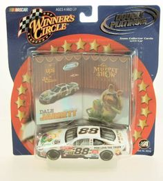 2002 - Action - NASCAR - Winner's Circle - Double Platinum Series - Dale Jarrett #88 - 1:43 Scale Die Cast - 2 DP Trading Cards - UPS Racing - Muppet Show 25 Years - Limited Edition - Collectible by Action. $15.00. 2002 - Action - NASCAR - Winner's Circle - Double Platinum Cards - Dlae Jarrett #88 - UPS Racing - Ford Taurus - Robert Yates Racing - The Muppet Show 25 Years Anniversary - Includes 1:43 Sclae Die Cast Stock Car, 2 Double Platinum Trading Cards - Very Rare ...