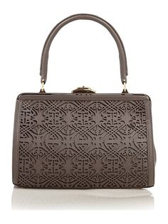 The Handbag Pulse: Gorgeous Biba Laser Cut Frame bag!