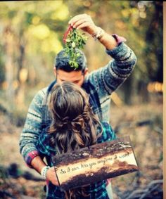 So I Can Kiss You Anytime I Want Photo Prop For Engagement Or Rustic Wedding