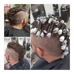Men's Hair Haircuts Fade Haircuts short medium long buzzed side part Popular Short Hairstyles, Permed Hairstyles, Men's Hair, Hair Art, Short Hair Cuts, Short Hair Styles, Mens Perm, Mens Hair Trends, Bald Fade