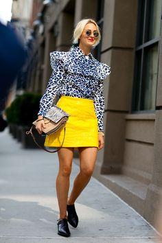 Miu Miu Blouse and Chloe Bag #streetstyle #style #fashion