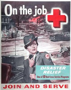 Yeperoo, that's me - DA! On the Job, Join and Serve ~ American Red Cross