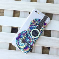 Henna Abstract Guitar - Clear TPU Case Cover – Milkyway
