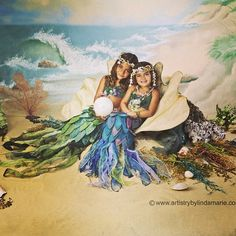 Mermaids, Pirates & Sailors OH MY! - Portrait Artistry by Linda Marie Children Photography, Family Photography, Christmas Portraits, Children And Family, Pirates, Whimsical, Sailors, Mermaids, Teresa Giudice