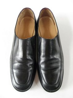 3b070e3a607 Ralph Lauren Leather Slip On Black Women s 11B Loafer  fashion  clothing   shoes