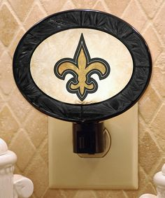 Take a look at this New Orleans Saints Night-Light by Ready to Ship: Home & Gear on #zulily today! Classy!  http://www.zulily.com/invite/tmetzger879